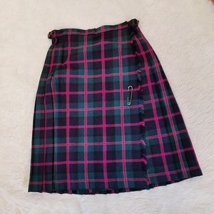 Made in Scotland 100% wool kilt